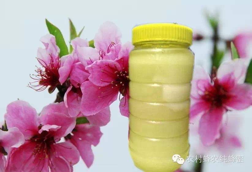 蜂农桃花纯蜂蜜
