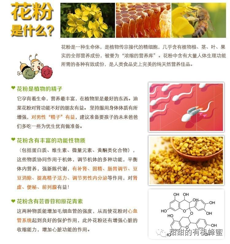 蜂花粉是白领、脑力劳动者的必备食品!