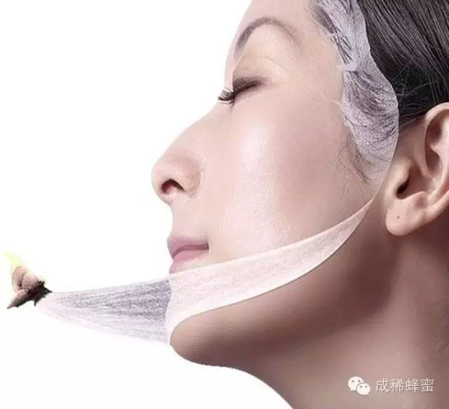 自制蜂蜜面膜