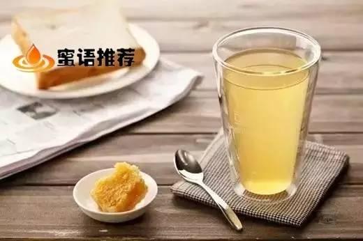 喝蜂蜜水的最佳时间段!   你喝对了吗?