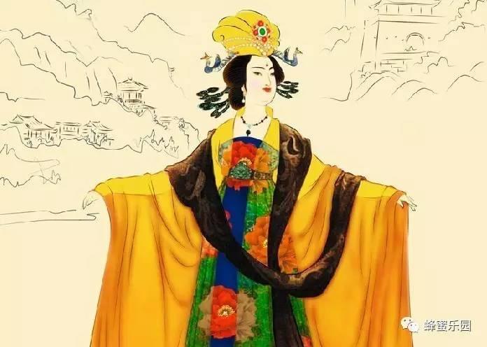 这位中国女皇常吃蜂花粉,年过八旬仍满面红光!