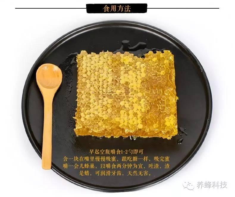 蜂蜜也会成熟你知道么——蜂巢蜜