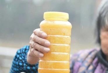真蜂蜜才结晶,真蜂蜜才有气泡!