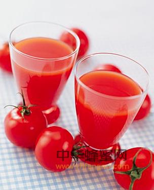 番茄汁 蜂蜜饮用 蜂蜜美容 蜂蜜功效 美白除斑