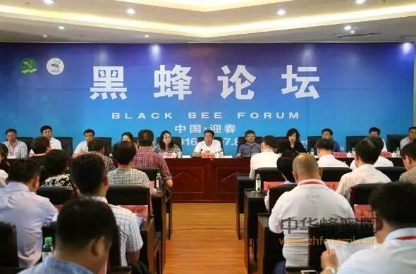 2016首届中国东北黑蜂论坛在迎春举行