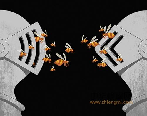 蜂群战争 蜂巢 蜜蜂 幼虫 蜜蜂尸体