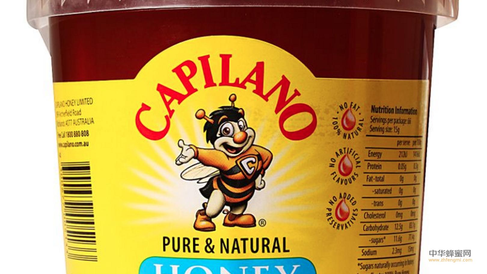 新加坡 蜂蜜进口 Capilano蜂蜜 食品安全