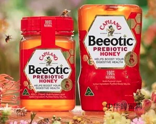 澳洲 康密乐 Capilano 蜂蜜 益生元蜂蜜 进口蜂蜜 蜂蜜市场