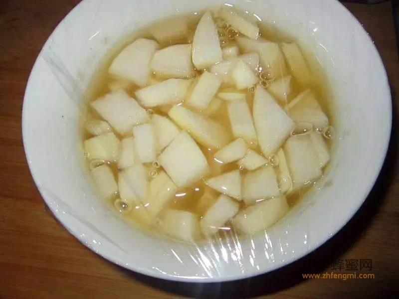 白萝卜蜂蜜水,止咳有良效!