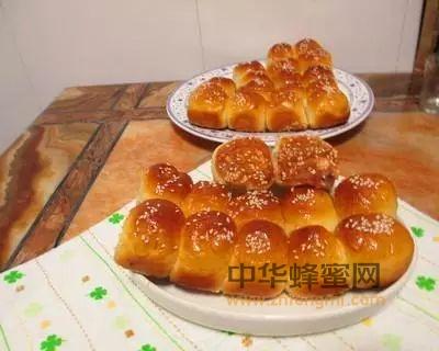 最简单的蜂蜜小面包做法!