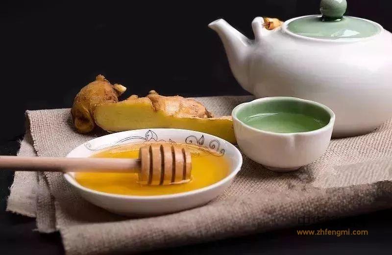 冬季蜂蜜配生姜